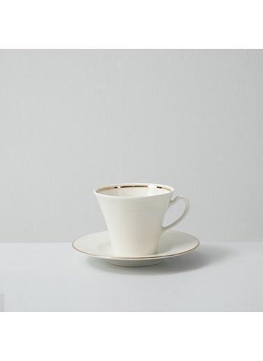 Chakra Perla Gold  6 Kısılık Çay Takımı Beyaz
